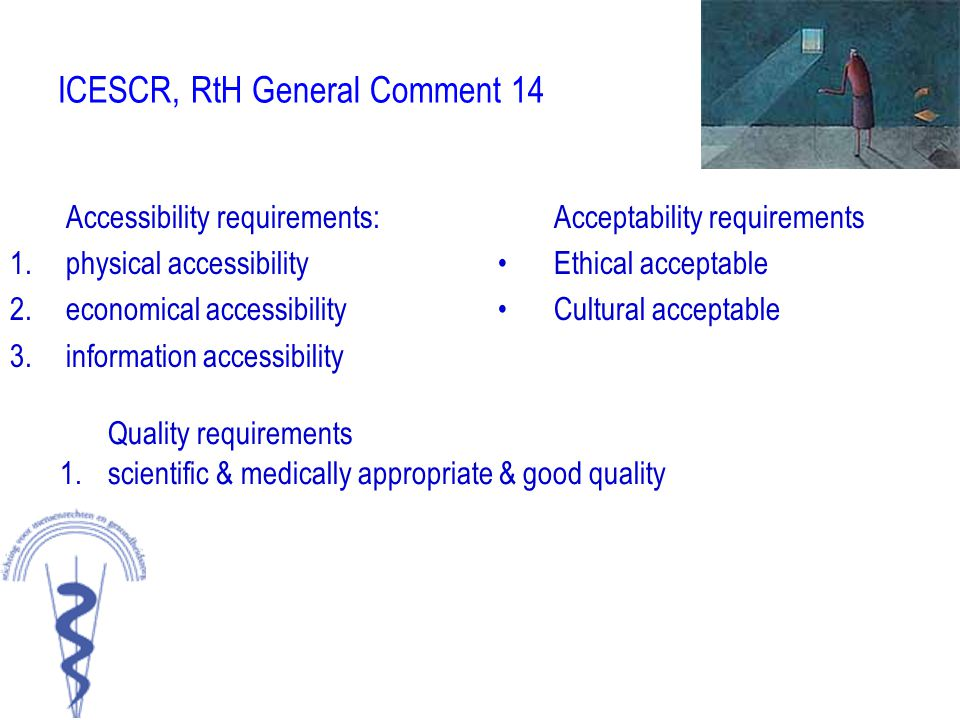 ICESCR, RtH General Comment 14
