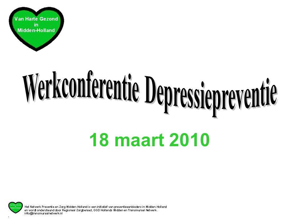 Werkconferentie Depressiepreventie