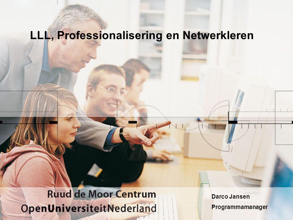 LLL, Professionalisering en Netwerkleren