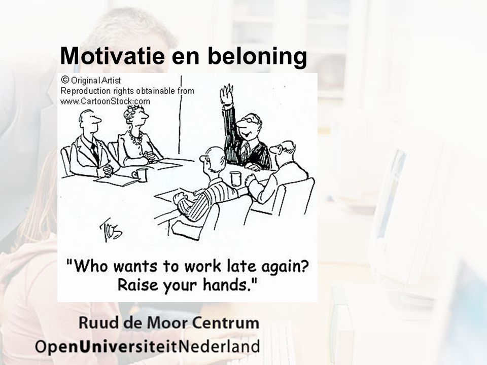 Motivatie en beloning