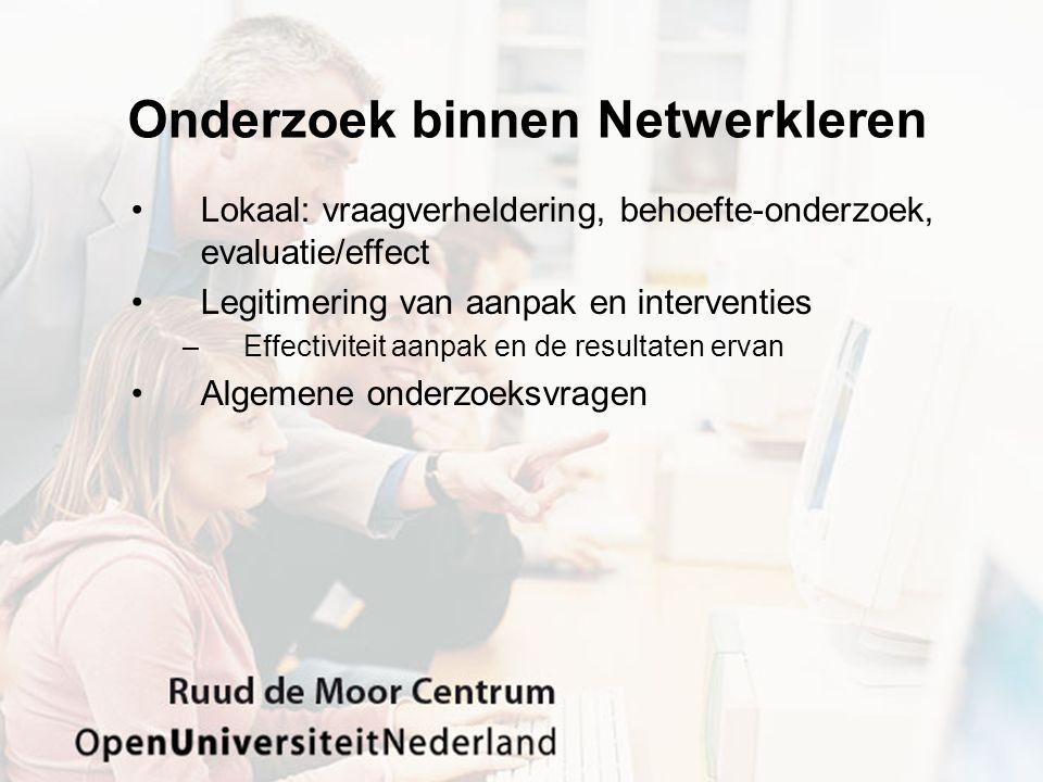 Onderzoek binnen Netwerkleren