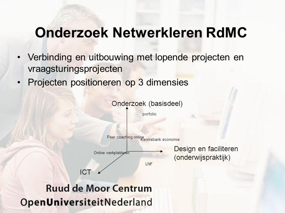 Onderzoek Netwerkleren RdMC