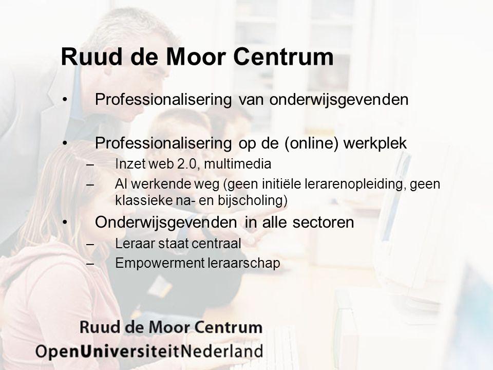 Ruud de Moor Centrum Professionalisering van onderwijsgevenden