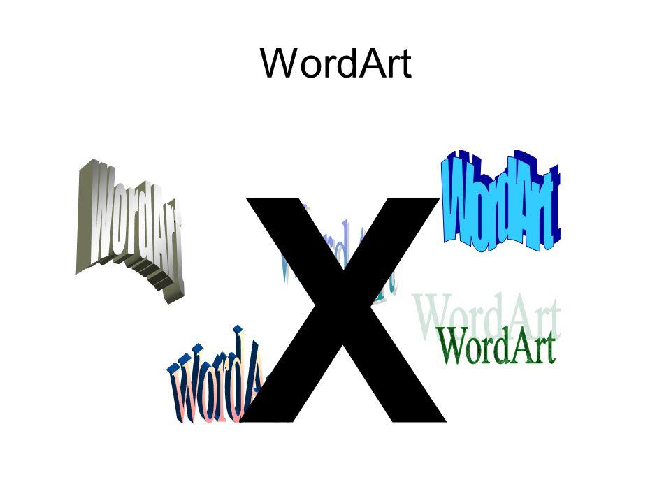 WordArt X WordArt WordArt WordArt WordArt WordArt