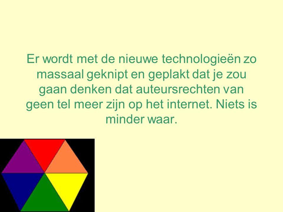 Er wordt met de nieuwe technologieën zo massaal geknipt en geplakt dat je zou gaan denken dat auteursrechten van geen tel meer zijn op het internet.