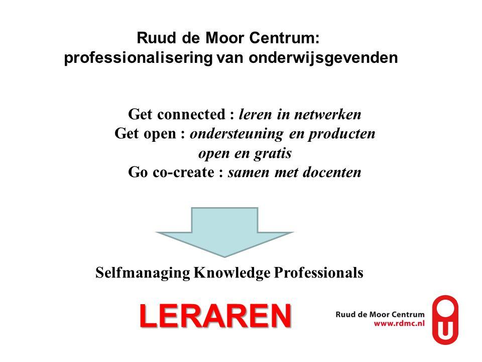 LERAREN Ruud de Moor Centrum: