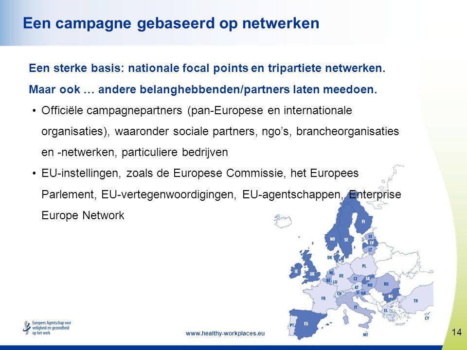Een campagne gebaseerd op netwerken