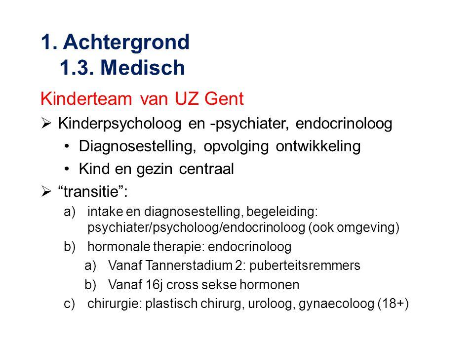 1. Achtergrond 1.3. Medisch Kinderteam van UZ Gent