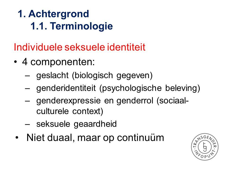 1. Achtergrond 1.1. Terminologie