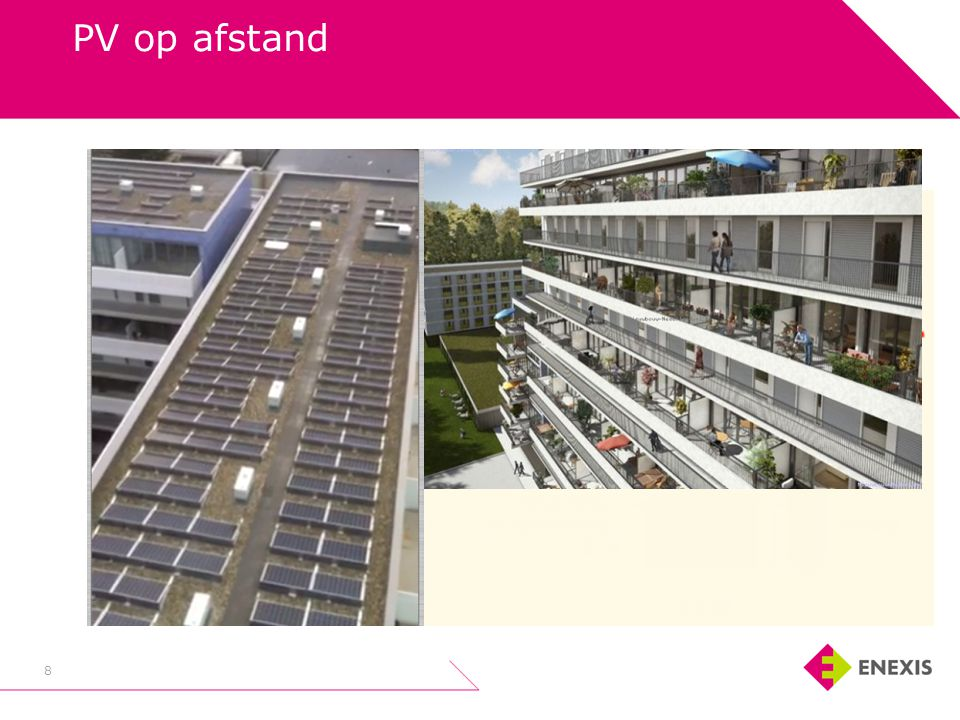 PV op afstand 8