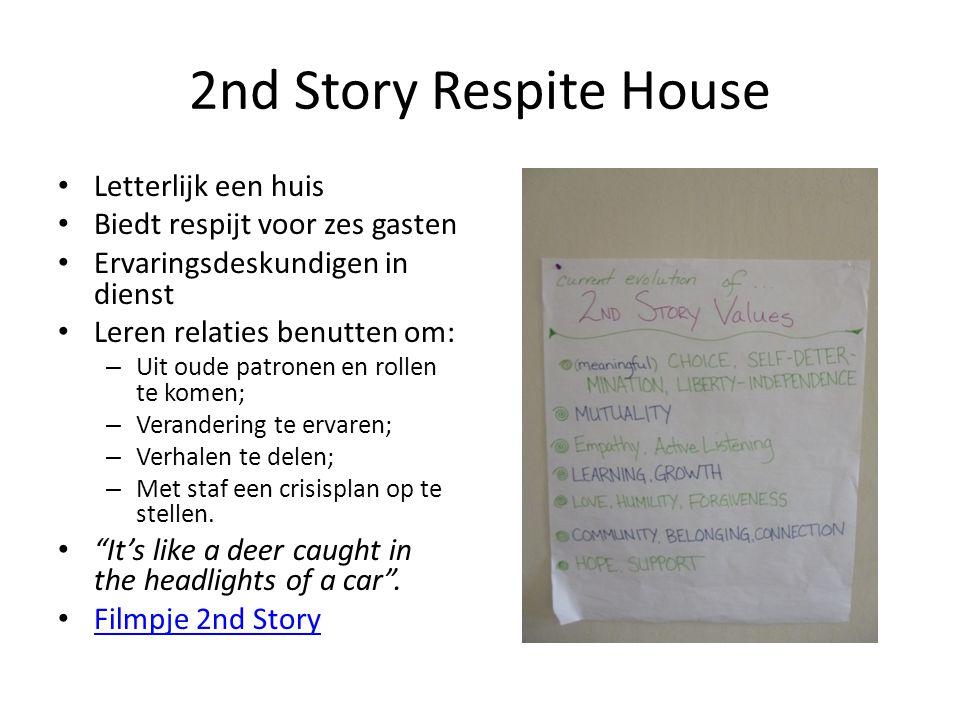2nd Story Respite House Letterlijk een huis