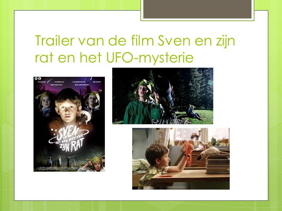 Trailer van de film Sven en zijn rat en het UFO-mysterie