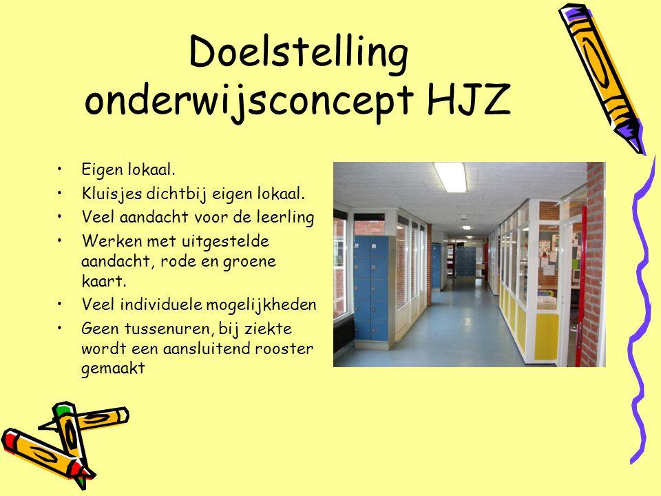 Doelstelling onderwijsconcept HJZ