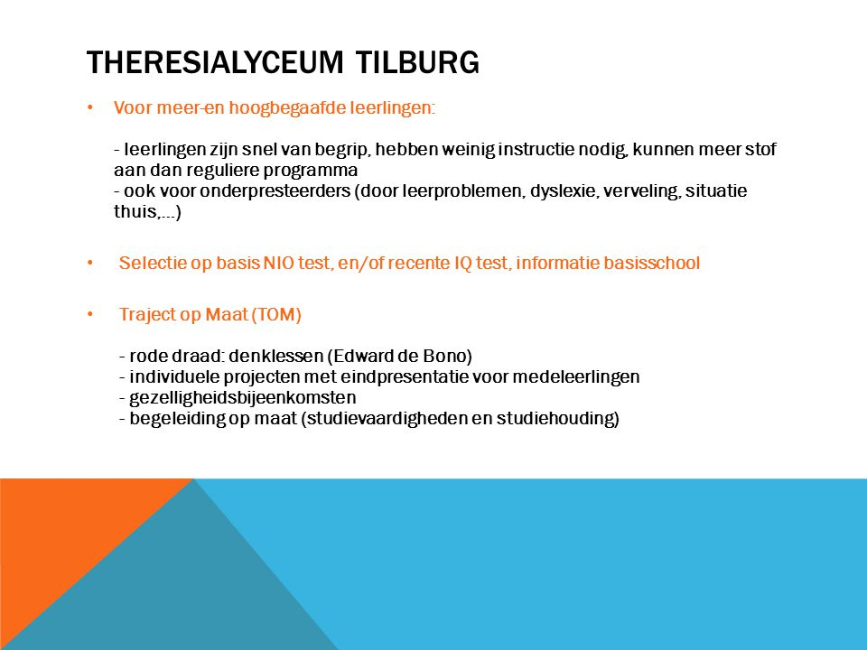 TheresiaLyceum Tilburg