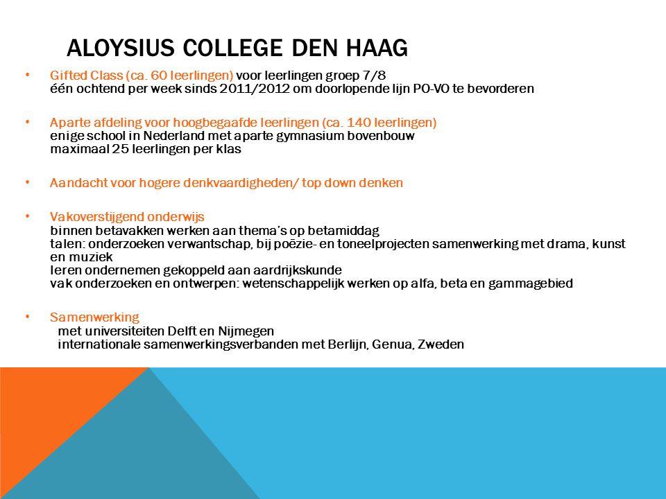 Aloysius College Den haag