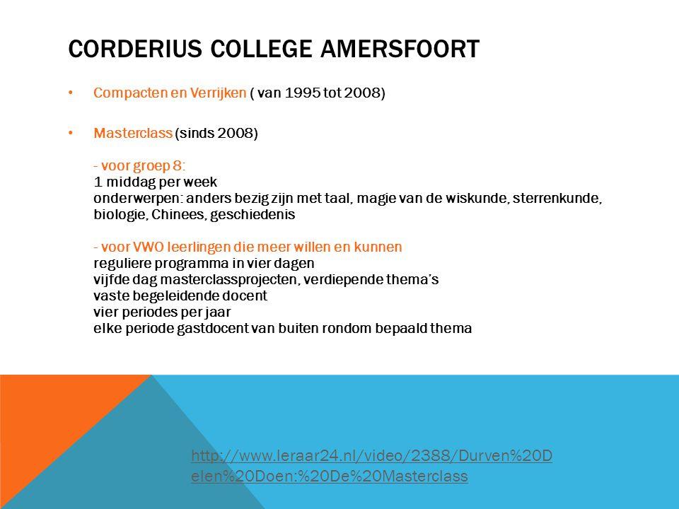 Corderius College Amersfoort