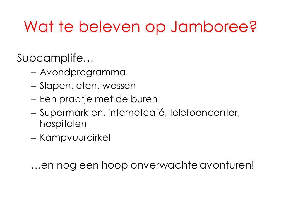 Wat te beleven op Jamboree