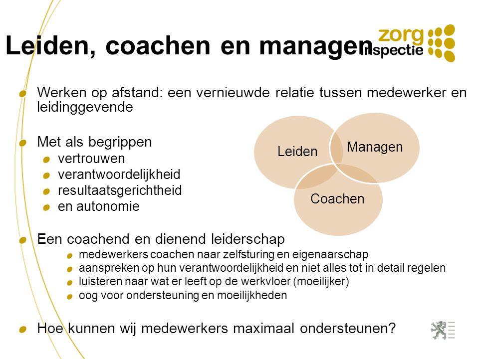 Leiden, coachen en managen