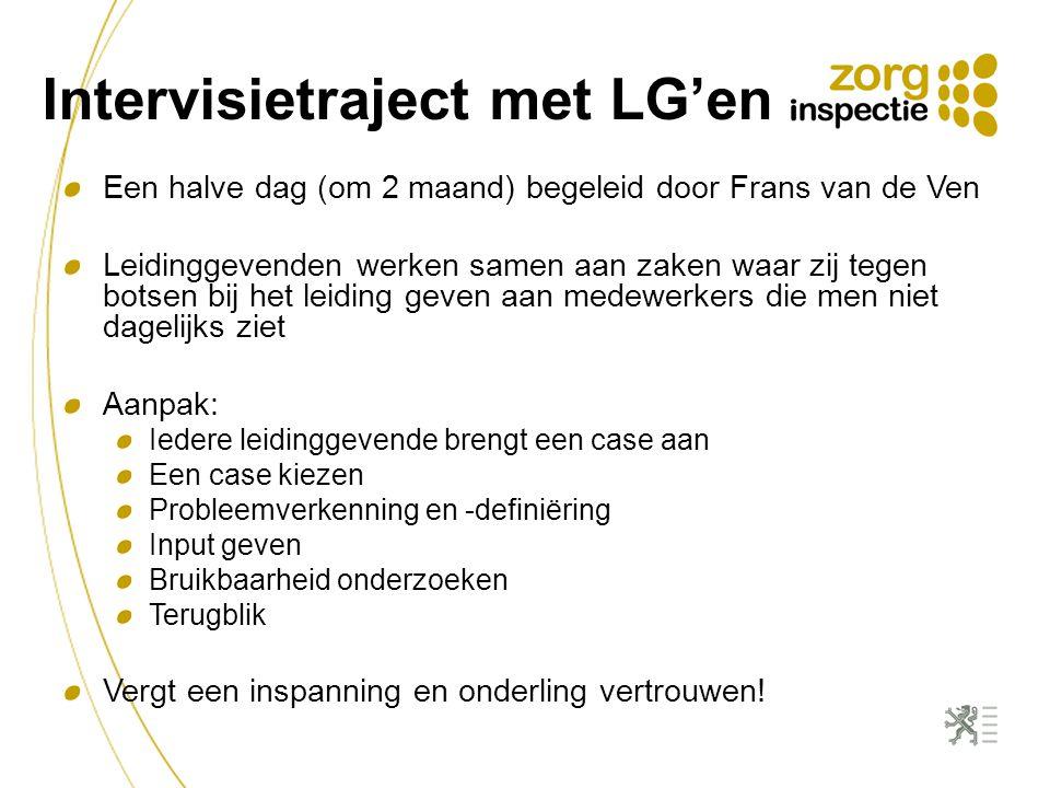 Intervisietraject met LG'en