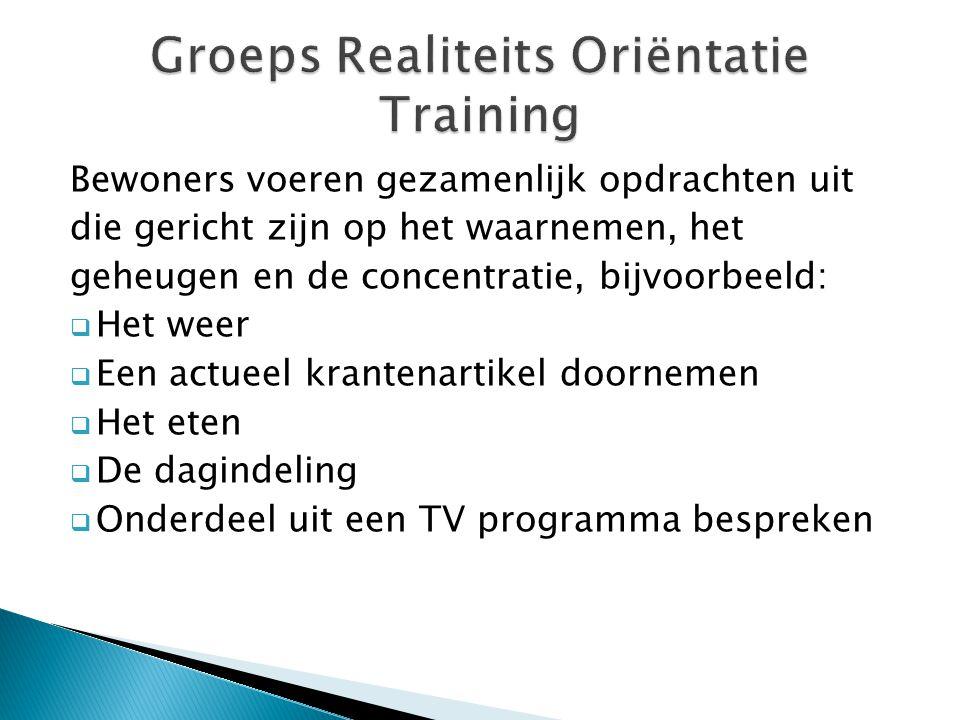 Groeps Realiteits Oriëntatie Training