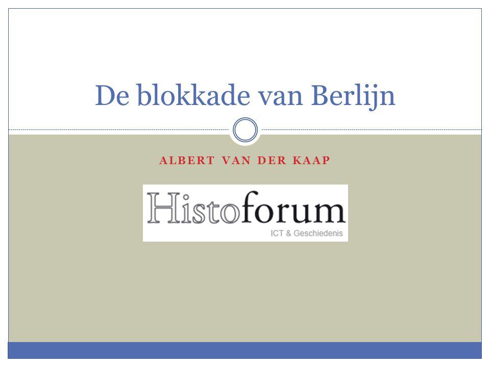 De blokkade van Berlijn
