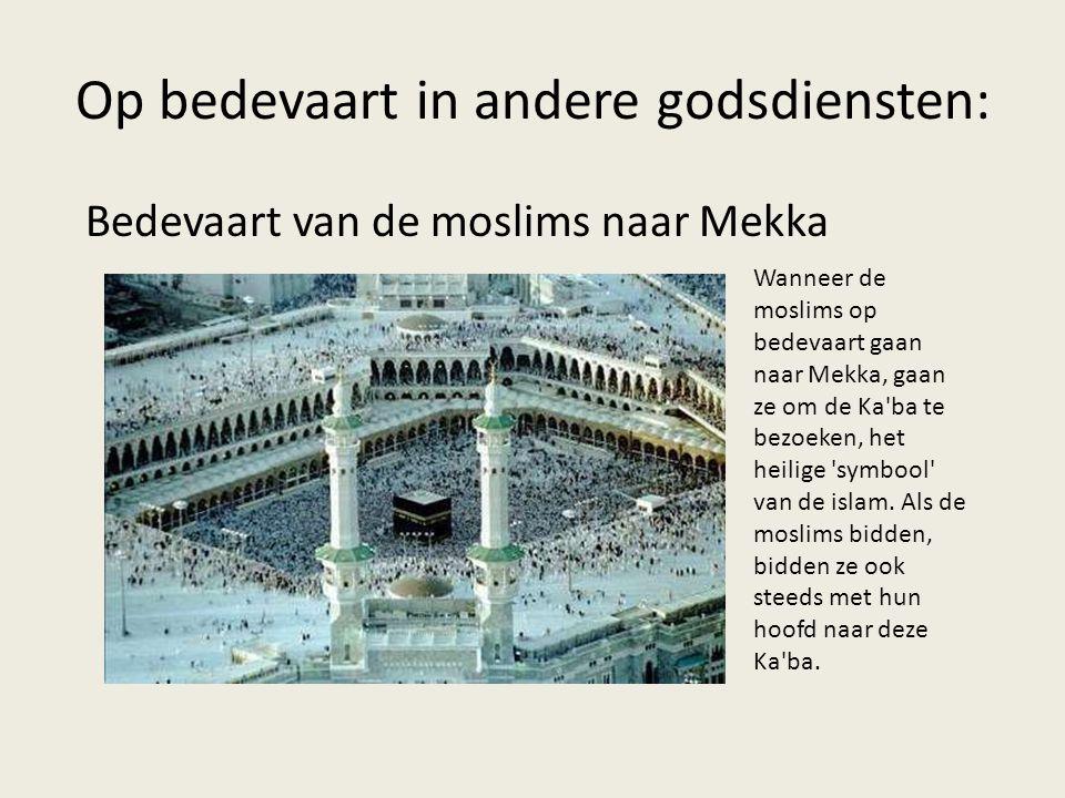 Op bedevaart in andere godsdiensten: