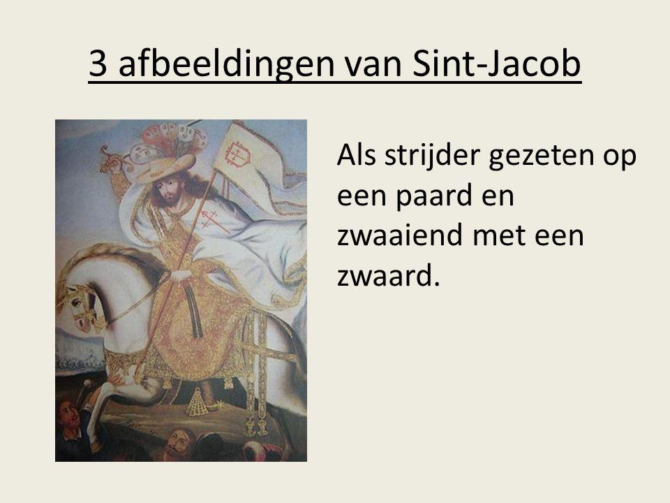 3 afbeeldingen van Sint-Jacob