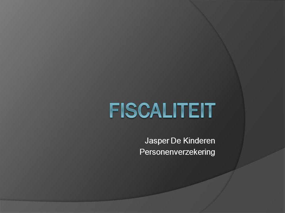 Jasper De Kinderen Personenverzekering