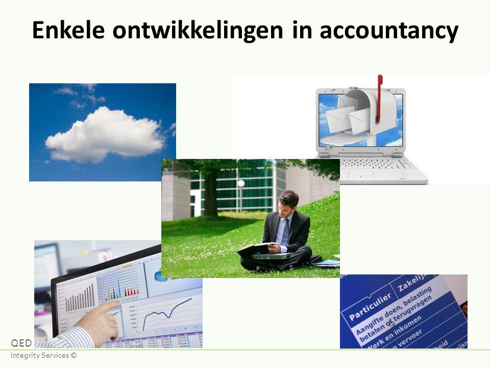 Enkele ontwikkelingen in accountancy