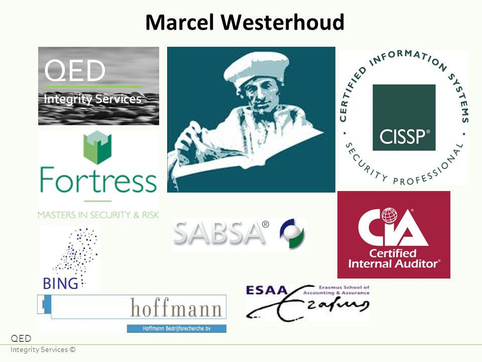 Marcel Westerhoud QED Integrity Services ©