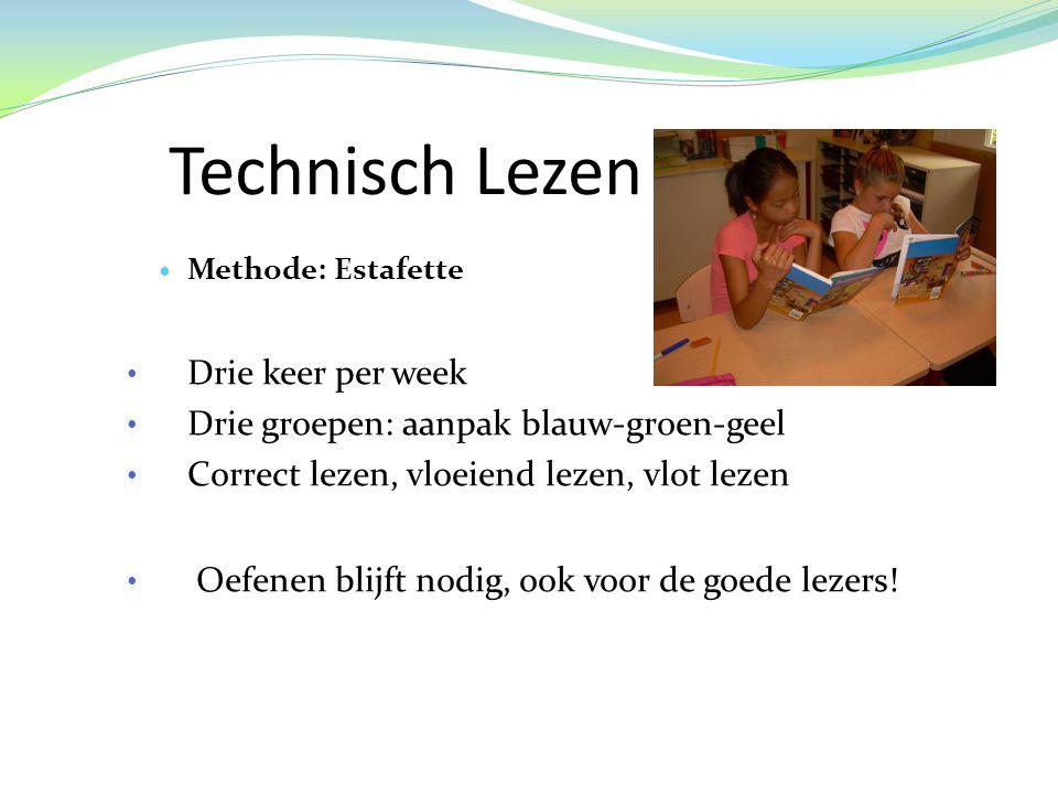 Technisch Lezen Drie keer per week