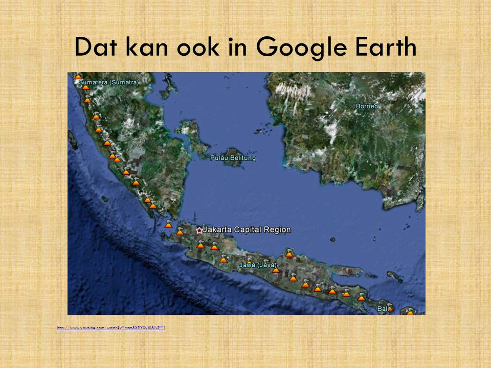 Dat kan ook in Google Earth