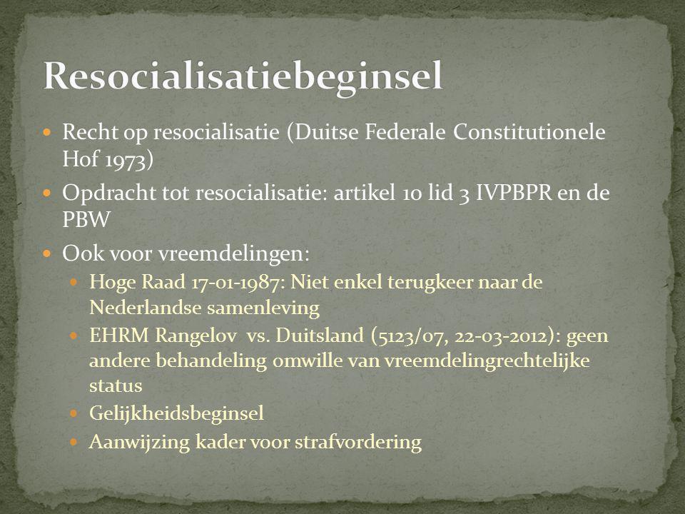 Resocialisatiebeginsel