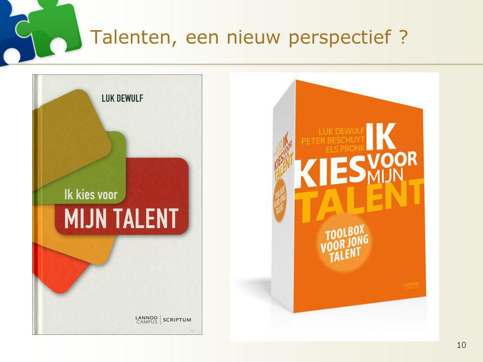 Talenten, een nieuw perspectief