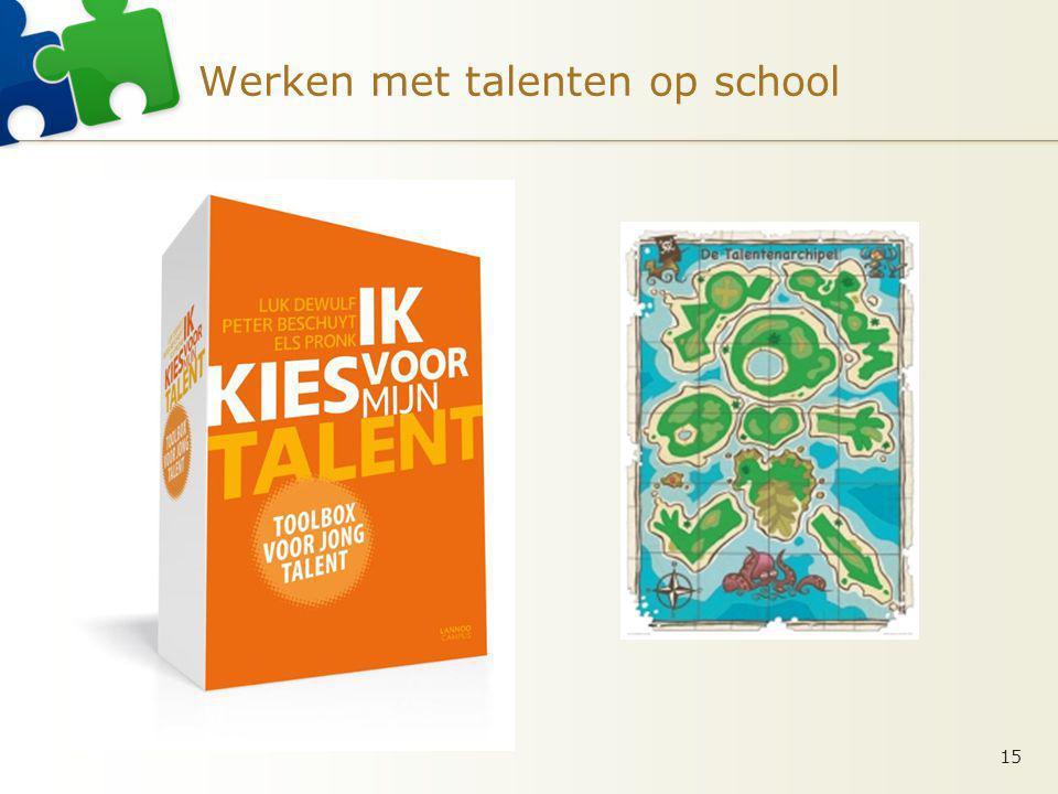 Werken met talenten op school