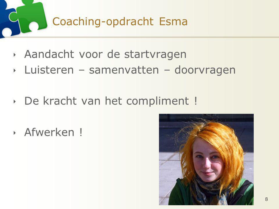 Coaching-opdracht Esma