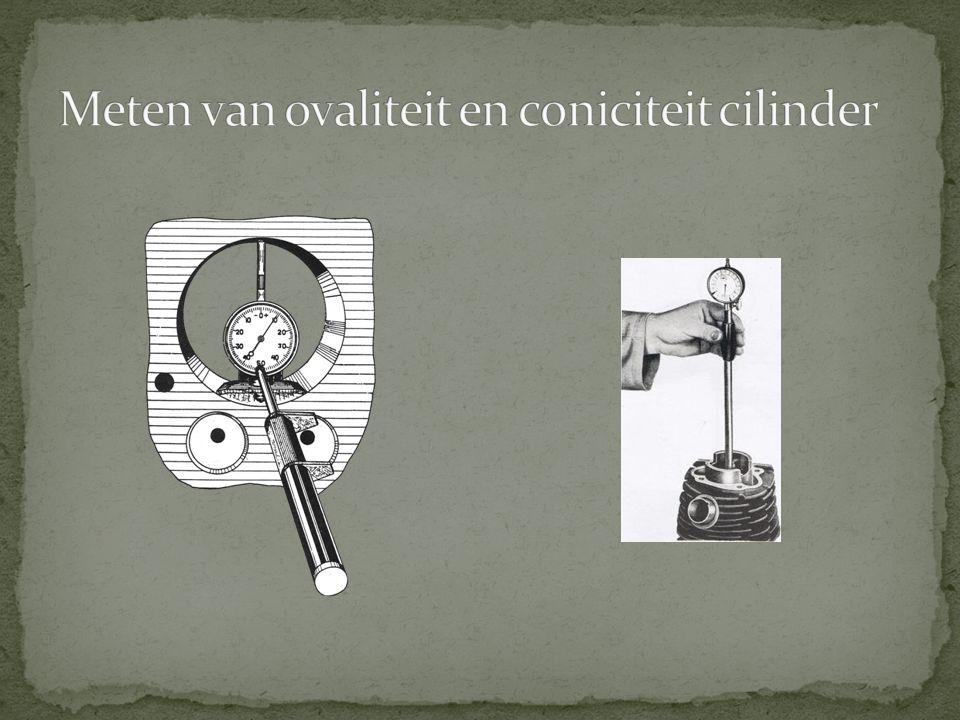 Meten van ovaliteit en coniciteit cilinder