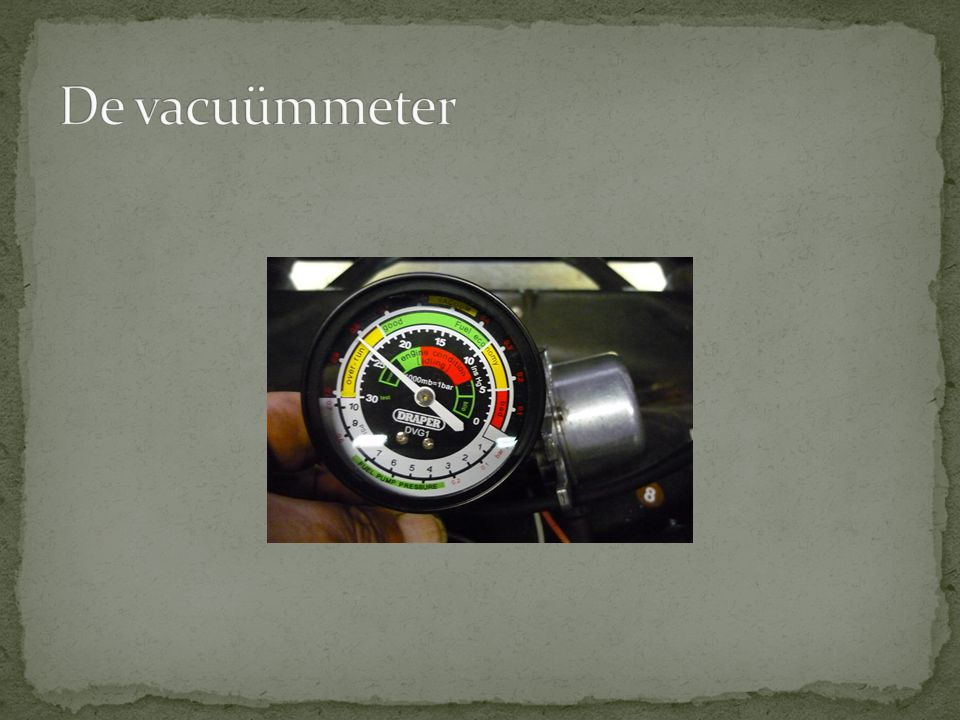 De vacuümmeter
