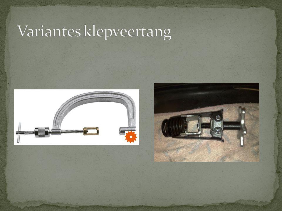 Variantes klepveertang