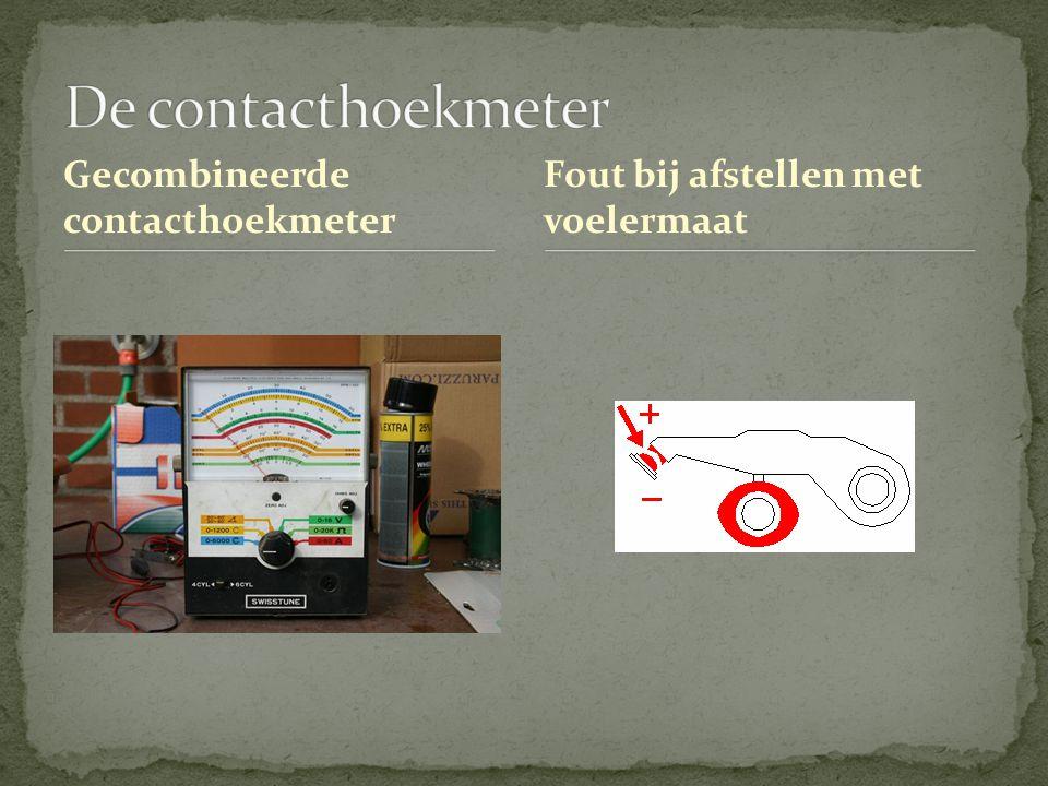 De contacthoekmeter Gecombineerde contacthoekmeter