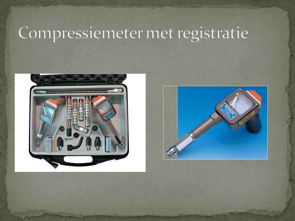 Compressiemeter met registratie