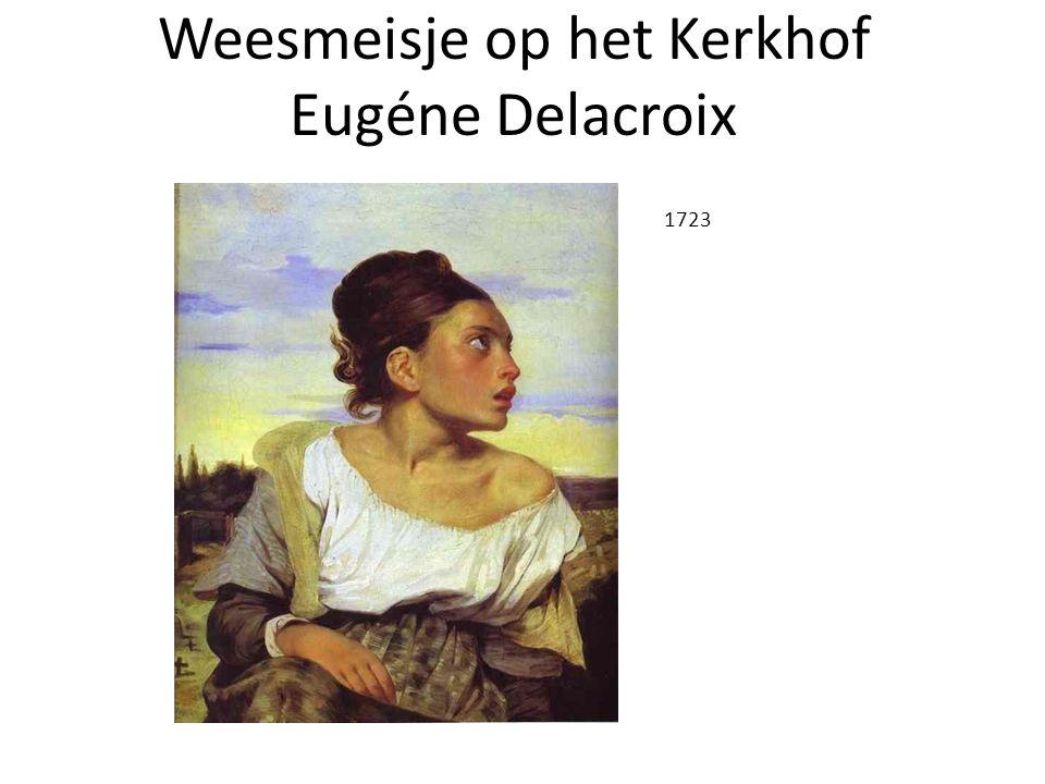 Weesmeisje op het Kerkhof Eugéne Delacroix