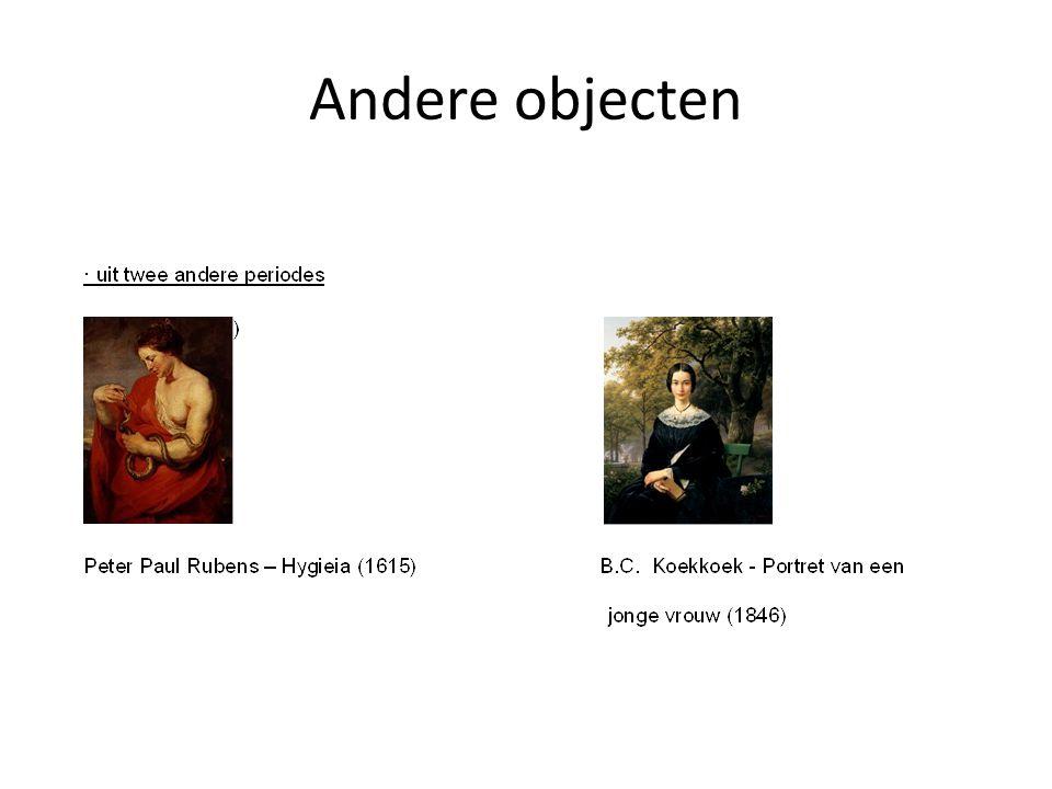 Andere objecten