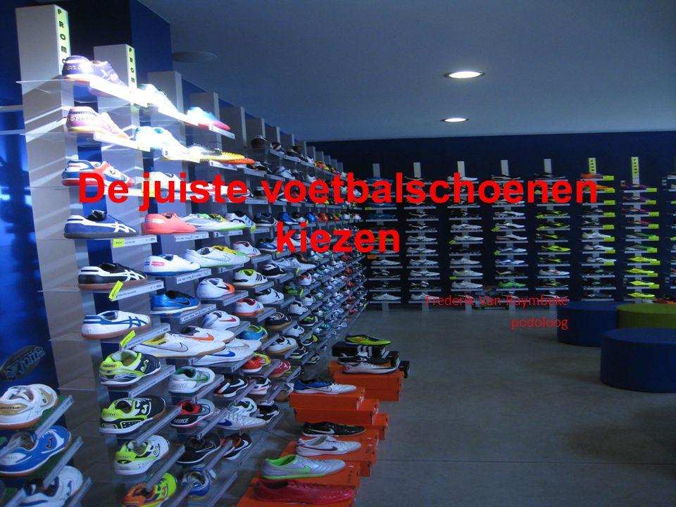 De juiste voetbalschoenen kiezen
