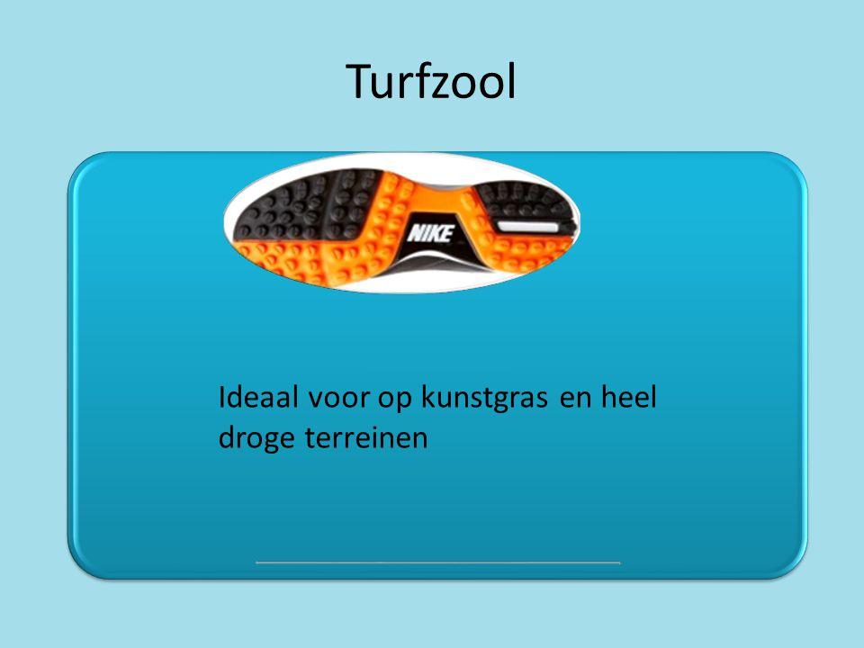 Turfzool Ideaal voor op kunstgras en heel droge terreinen