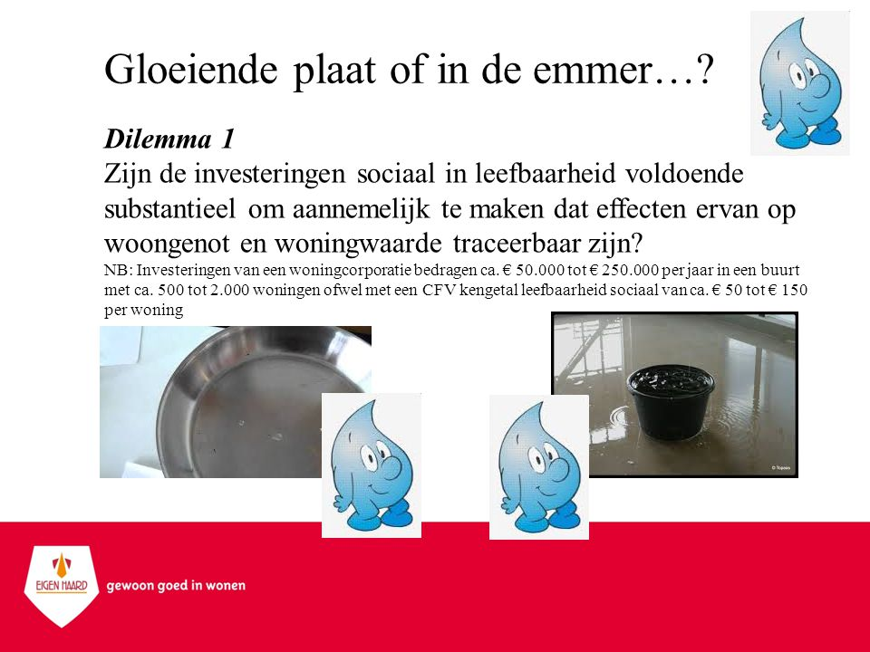 Gloeiende plaat of in de emmer…