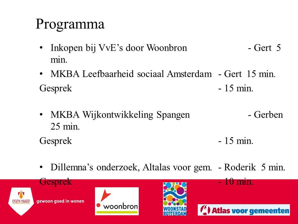 Programma Inkopen bij VvE's door Woonbron - Gert 5 min.
