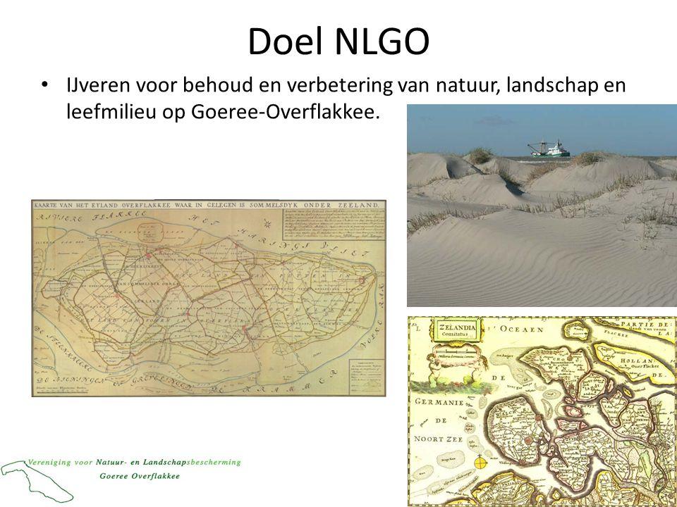 Doel NLGO IJveren voor behoud en verbetering van natuur, landschap en leefmilieu op Goeree-Overflakkee.