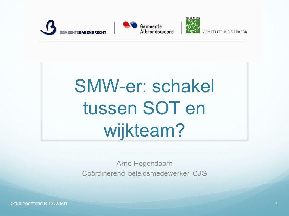 SMW-er: schakel tussen SOT en wijkteam