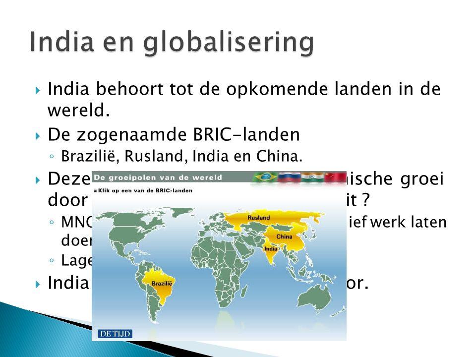 India en globalisering